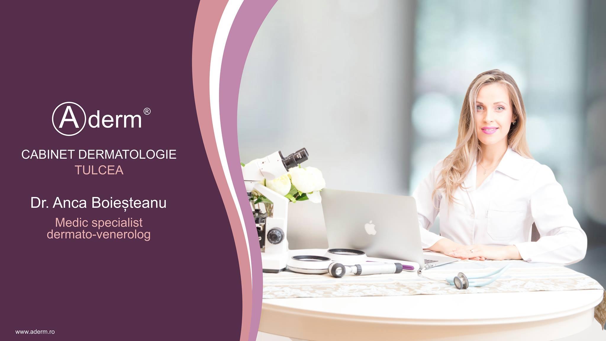Cabinet dermatologie Tulcea Dr. Anca Boiesteanu